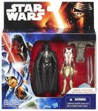 "Star Wars: 3.75"" Darth Vader & Ahsoka Tano Figure 2-Pack"