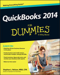 QuickBooks 2014 For Dummies by Stephen L. Nelson