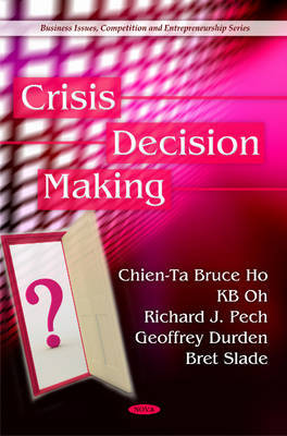 Crisis Decision Making by Chien-Ta Bruce Ho image