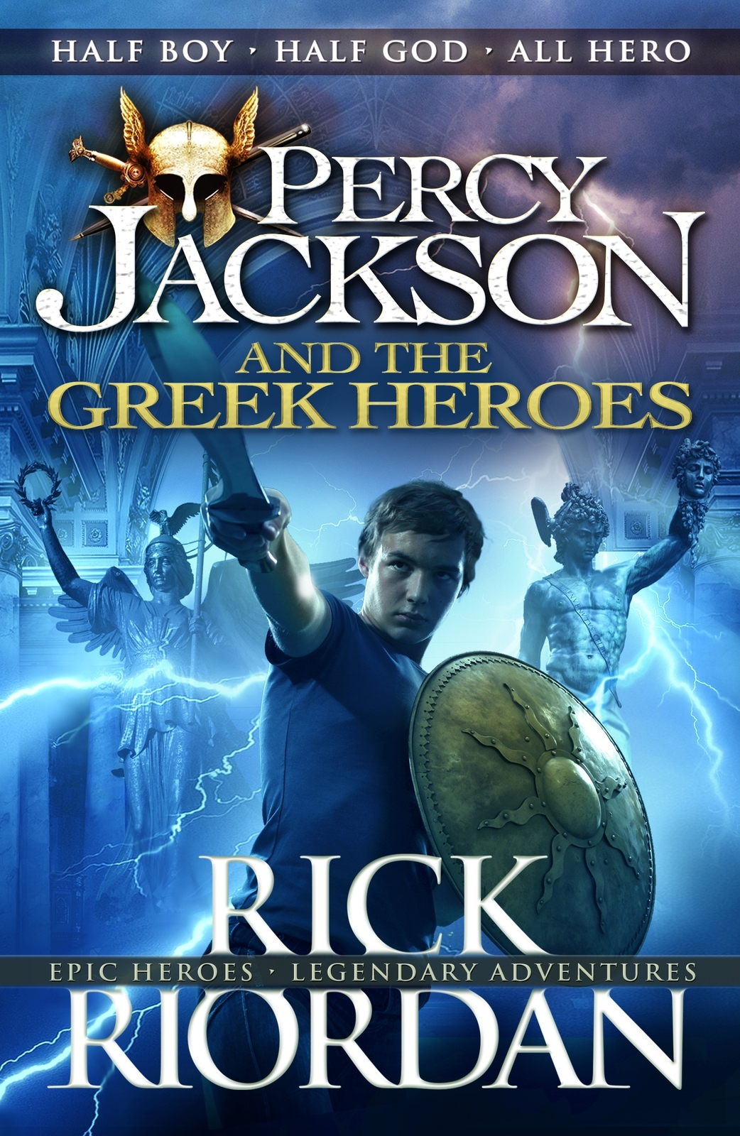 Percy Jackson and the Greek Heroes by Rick Riordan image