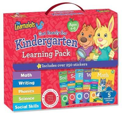 The Learnalots Get Ready for Kindergarten Learning Pack Ages 4-6 by Rainstorm image