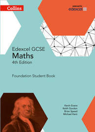 GCSE Maths Edexcel Foundation Student Book by Kevin Evans