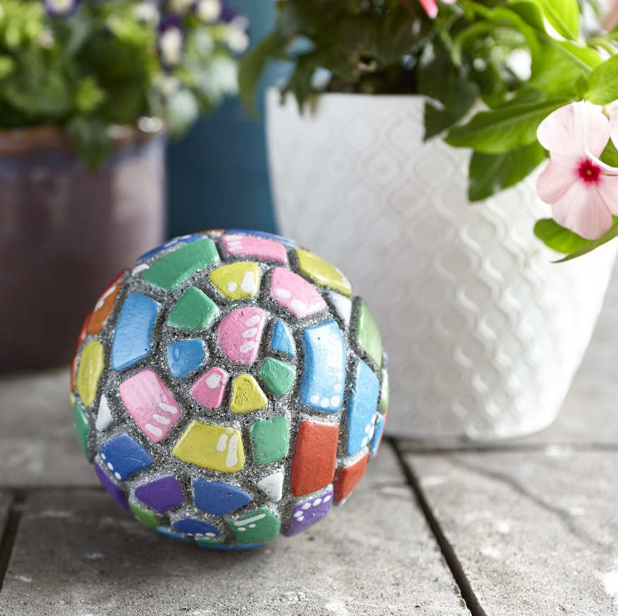 Mindware Create: Paint Your Own Stone - Mosaic Orb image