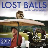 Lost Balls 2019 Square Wall Calendar by Inc Browntrout Publishers