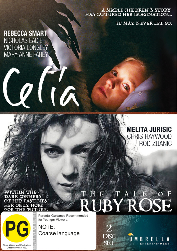 Celia + The Tale Of Ruby Rose on DVD