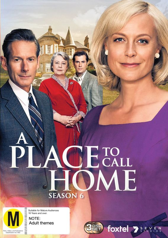 A Place To Call Home: Season 6 on DVD