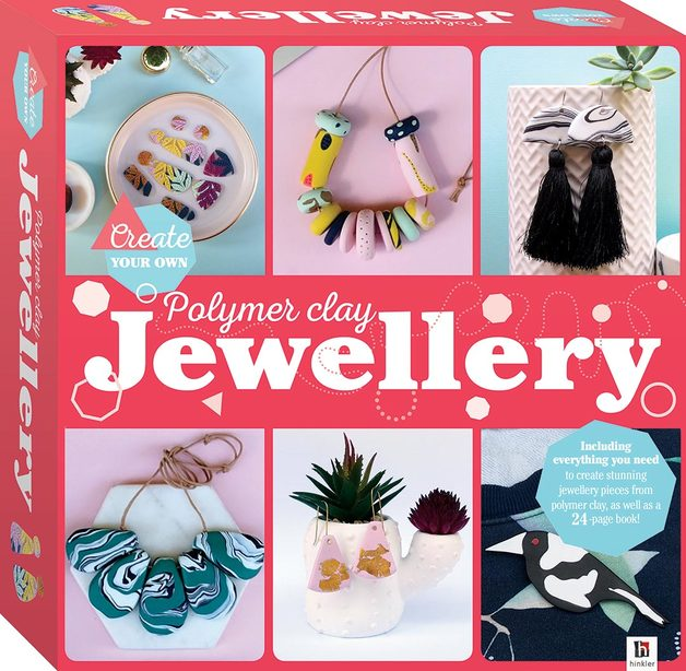 Hinkler: Create Your Own - Polymer Clay Jewellery Kit