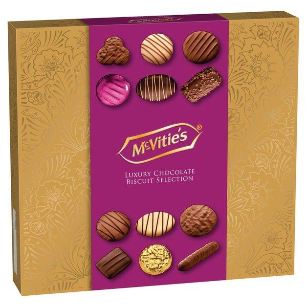 Mcvities Premium Assortment Chocolate Biscuits (400g)