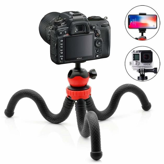 Flexible Video Live Octopus Tripod for Mobile Phone