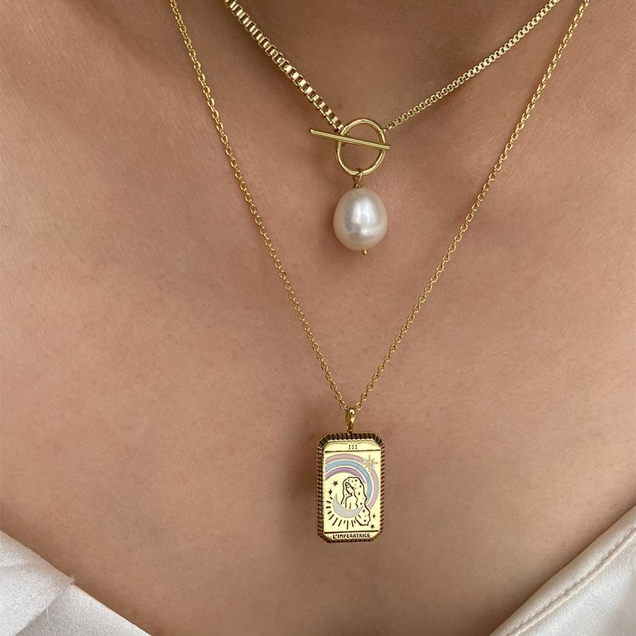 Wanderlust + Co: L'Imperatrice Necklace image