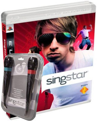 SingStar with Microphones for PS3
