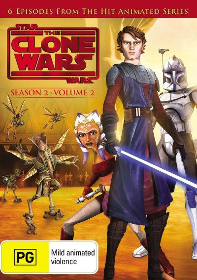 Star Wars: The Clone Wars: Season 2 - Volume 2 on DVD image