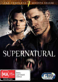 Supernatural - The Complete 7th Season on DVD