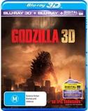 Godzilla 3D (Blu-ray 3D/Blu-ray/Ultraviolet) DVD