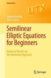 Semilinear Elliptic Equations for Beginners by Marino Badiale