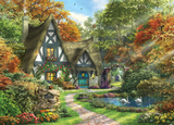 Holdson: 1000pce Picture Perfect Puzzle (Autumn Cottage)