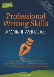 Professional Writing Skills by Natasha Terk image