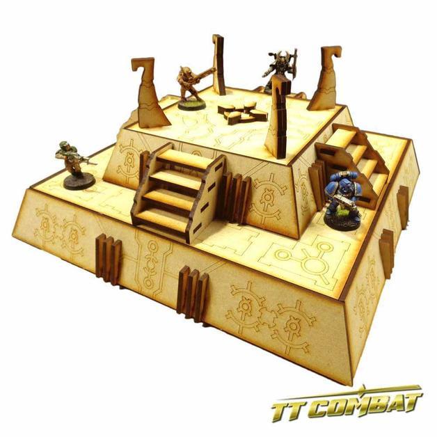 TTCombat: Tabletop Scenics - Cyber Bunker
