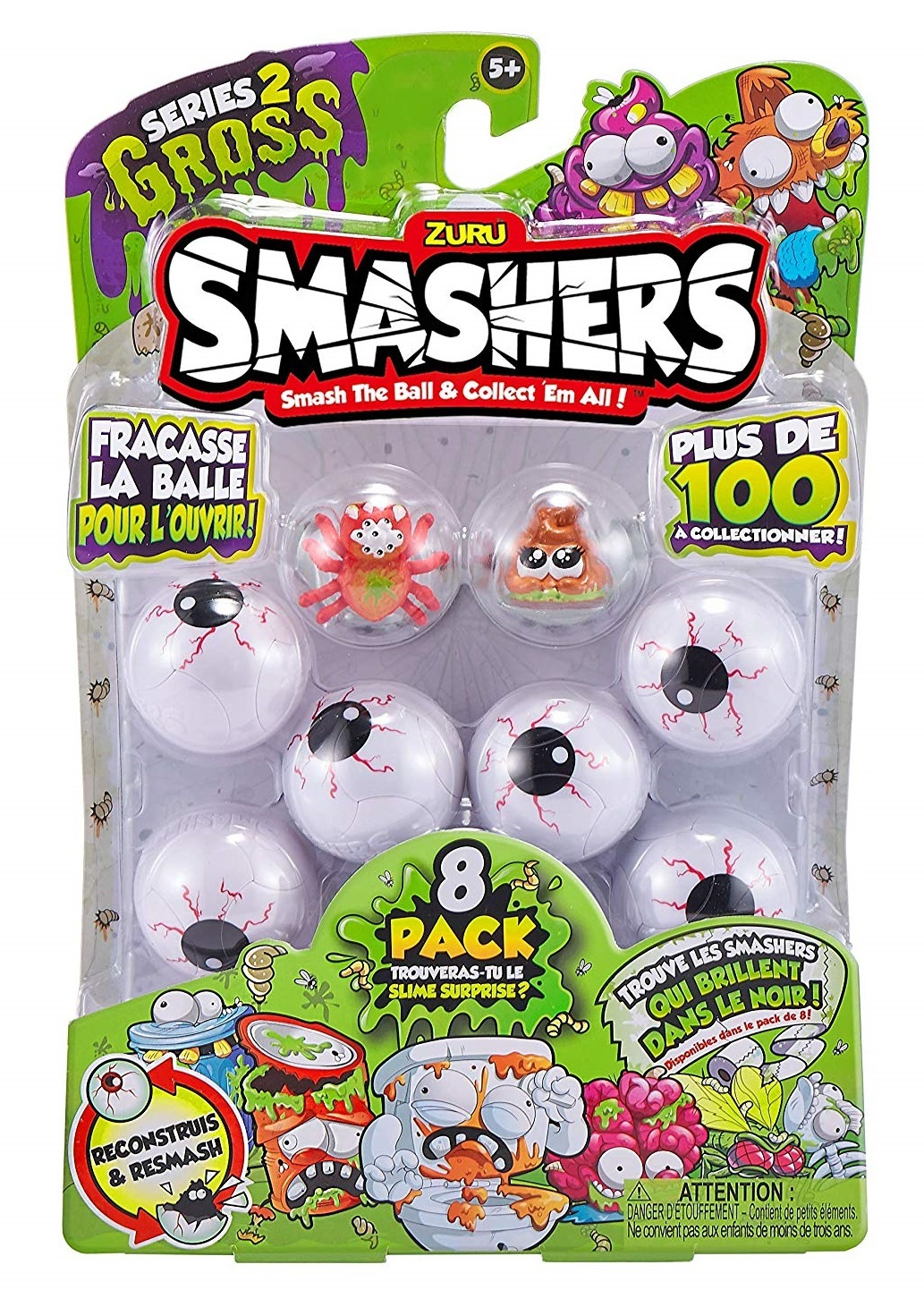 Smashers: Mini Figure 8-Pack - Series 2 (Assorted Designs) image