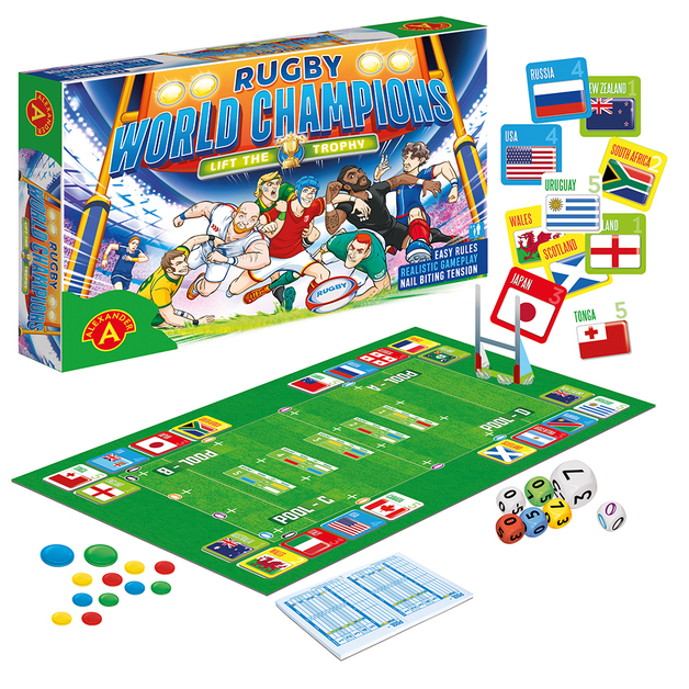 Rugby World Champions - Board Game