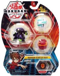Bakugan: Battle Planet - Starter Pack (Darkus Lupitheon)