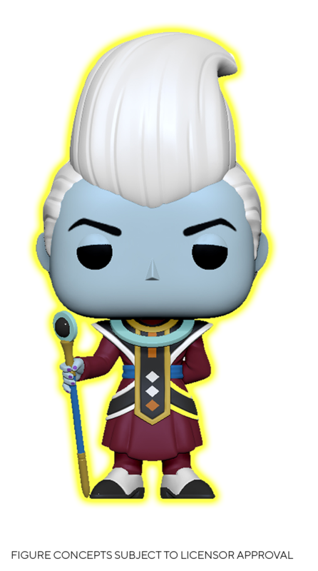 Dragon Ball Super - Whis (Glow) Pop! Vinyl Figure