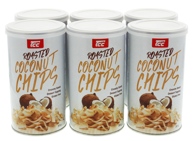 Roasted Coconut Chips - 6 pack