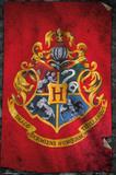 Harry Potter - Hogwarts Flag Wall Poster (405)