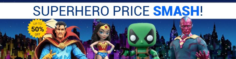 Superhero Price Smash!