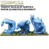 Kings of War Trident Water Elemental Regiment