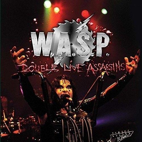 Double Live Assassins (2LP) by W.A.S.P image