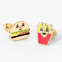 Yellow Owl Workshop Burger & Fries Earrings