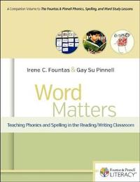 Word Matters by Irene Fountas image