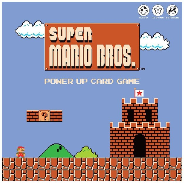 Super Mario Bros: Power Up - Card Game