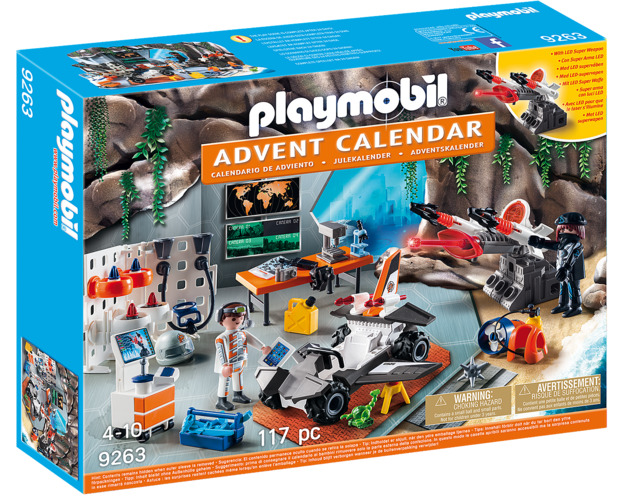 Playmobil: Advent Calendar - Top Agents (9263)