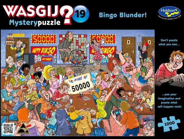 Wasgij: 1000 Piece Puzzle - Mystery #19 (Bingo Blunder)