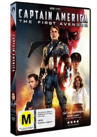 Captain America - The First Avenger on DVD