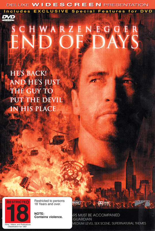 End Of Days on DVD