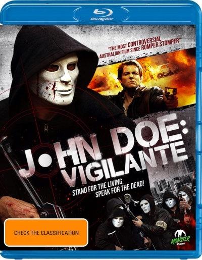 John Doe: Vigilante on Blu-ray