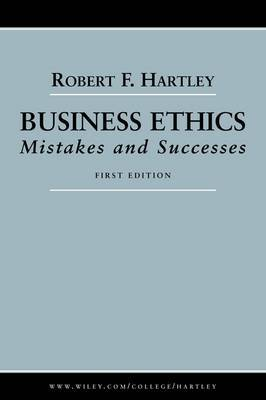 Business Ethics by Robert F. Hartley image