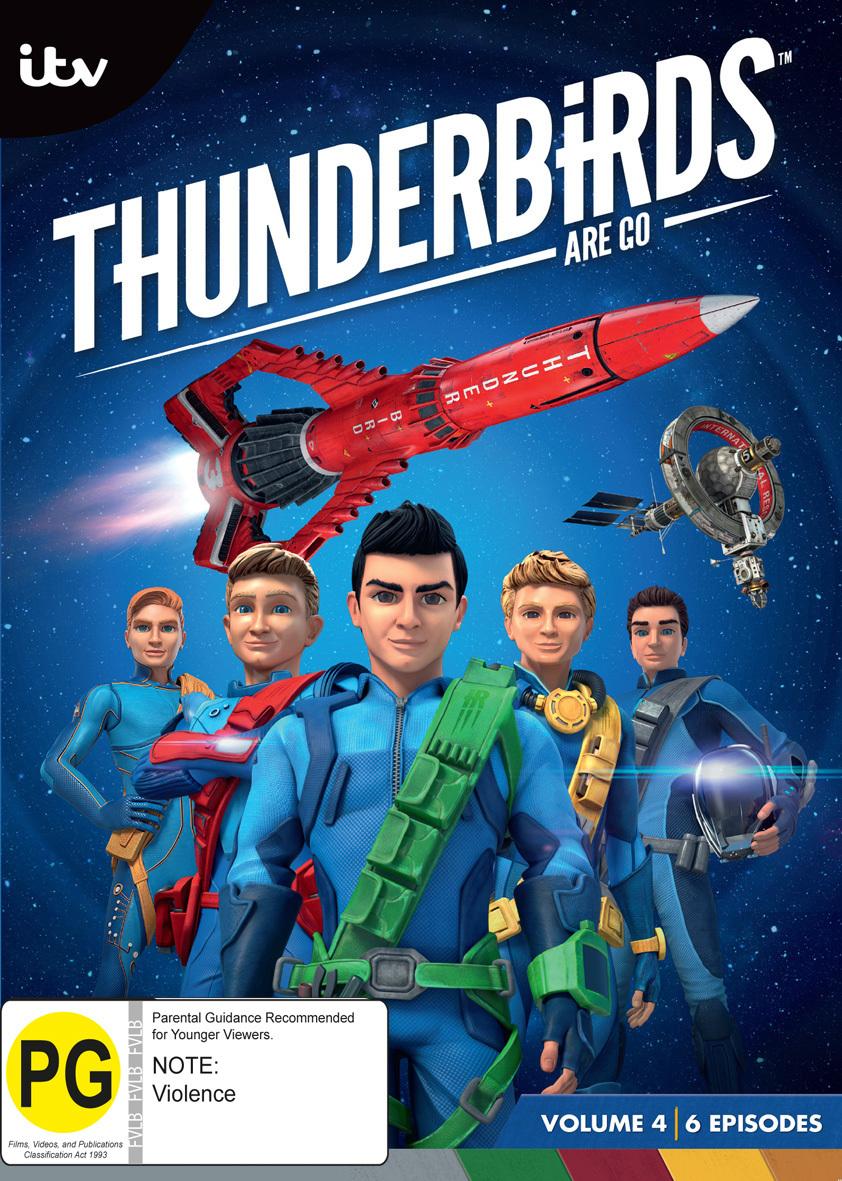 Thunderbirds Are Go: Volume 4 on DVD image