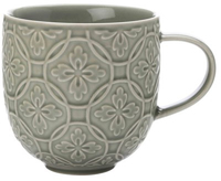 Casa Domani Pavia Mug Textured 400ml Olive Green