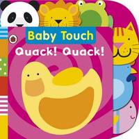 Baby Touch: Quack! Quack! Tab Book by Ladybird image
