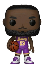 NBA: Lakers - Lebron James (Purple) Pop! Vinyl Figure image