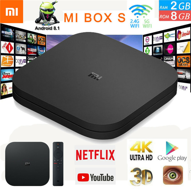 Xiaomi: TV Box MI Box S Media Player image