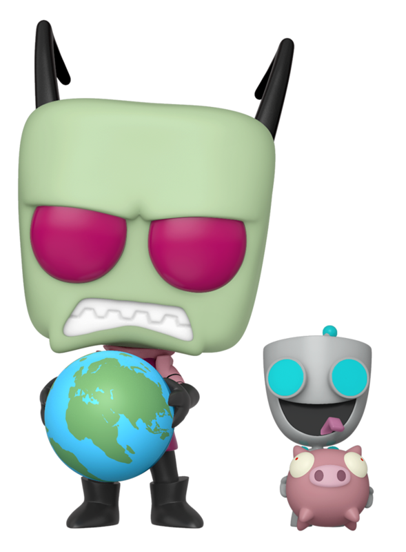 Invader Zim - Zim & Gir - Pop! Vinyl Figure