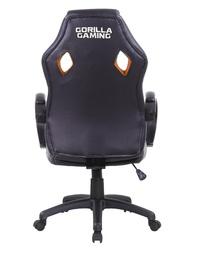 Gorilla Gaming Chair - Black & Orange for