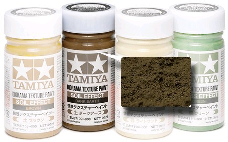 Tamiya Diorama Texture Paint 100ml Dark Earth at Mighty Ape NZ