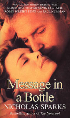 a plot summary of nicholas sparks book message in a bottle Rewatching and analyzing nicholas sparks movies  with 1999's message in a bottle  back at the beginning of the plot summary: noah and allie are just a couple of stupid teenagers who are.