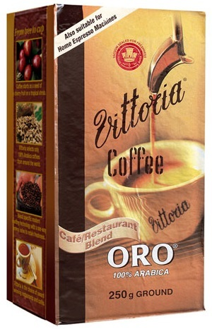 Vittoria Ground ORO Coffee (250g)